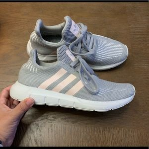 Adidas Swift - Grey and Baby Pink